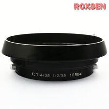 Metal Lens Hood for Leica Leitz Summilux Summicron M 35mm 1:1.4 1:2 12504 black