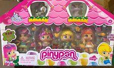Famosa PINYPON COLLECTORS SET - 4 Dolls 2 Pets and Accessories NIB