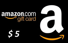 Digital $5 Amazon USA Gift Card