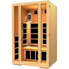 JNH Lifestyles Joyous 2 Person Far Infrared Sauna 7 Carbon Fiber Heaters!
