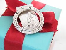 Authentic Tiffany & Co Silver Sail Boat Money Clip Holder