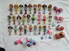 Groovy Girls Mini Doll Huge Lot Bendable Dolls Cars Pets Multicultural LKNew