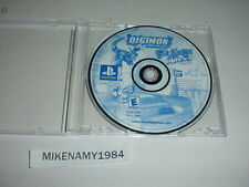 DIGIMON RUMBLE ARENA game in case as shown for Playstation / PS2