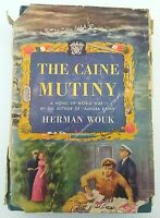 THE CAINE MUTINY HCDJ 1951 Edition by Herman Wouk / Bogart Film Classic