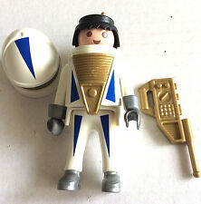 Playmobil Special 4553 Space Explorer White Astronaut figure With Weapon Helmet