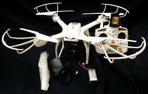 Grand Drone Quadricoptère 50cm MJX X101 RC Drone avec caméra HD 6 axes Gyro 2.4