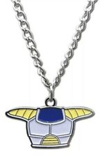 Dragon Ball DBZ Necklace Vegeta Saiyan Armor Costume Metal Cosplay License NEW