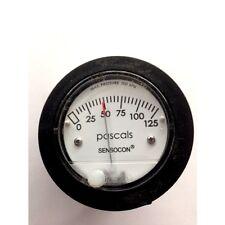 Sensocon Pressure Gauge 0-125PA alternative to Dwyer Magnehelic