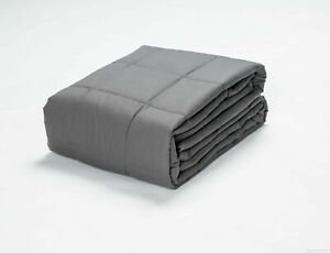 California King 72 in x 84 in Weighted Blanket Sensory Therapy Deep Sleep 12 lbs