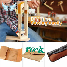 Desktop Lacing Leather Craft Hand Table Stitching Sewing Pony Horse Clamp Tools