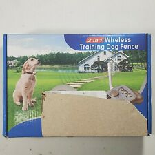 New listing Intelligent 2 in 1 Dog Training & Outdoor Wireless Fence System M10