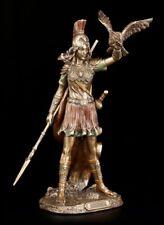 Athena Figur - Mit Speer und Eule - Athene Göttin Statue griechisch - Veronese