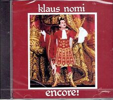 CD - KLAUS NOMI - Encore