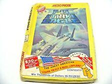 F-15 Strike Eagle (Atari 800/1200/XL/XE/Commodore 64/128, 1985) NIB Disk NTSC