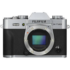 NEW BOXED FUJIFILM X-T20 XT20 CAMERA BODY ONLY SILVER
