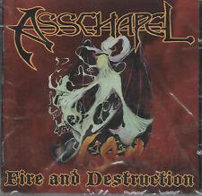 Asschapel - Fire and Destruction CD - New / Sealed (2003) Thrash Hardcore