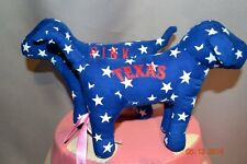 RARE Victorias Secret Pink MLB Texas Rangers Mini Dog NWT