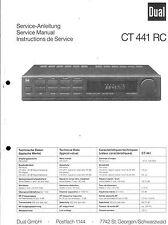 Dual Service Manual für CT 441 RC