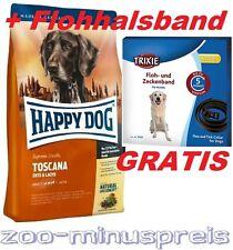 Happy Dog TOSCANA 12,5 kg, Zutaten der leichten Mittelmeerküche, Ente und Lachs