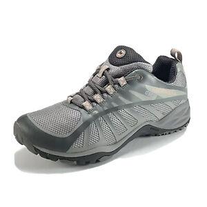 Merrell Women's Size 7 Siren Edge Q2 Hiking Athletic Sport Sneakers Grey Pink