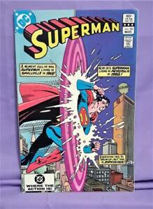 Cary Bates SUPERMAN #381 Curt Swan Superboy Appearance Bronze Age (DC, 1983)!