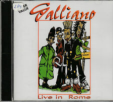 GALLIANO - LIVE IN ROME