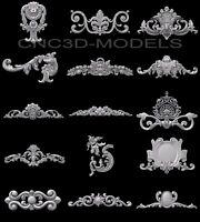 3D Model STL for CNC Router Engraver Carving Artcam Aspire Collection Decor c111