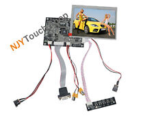 VGA AV LCD Driver Board With 5.6inch 640x480 AT056TN52 AT056TN53 4:3 LCD Panel