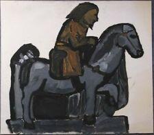 Peintures du XXe siècle et contemporaines huiles personnage pour art brut, outsider art