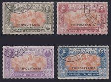 Tripolitania, 1923. Faith Issue 1-4, Used
