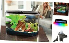 PanaView 5-Gallon Aquarium Kit - Power Filter - Led Lighting, (Aq15005)
