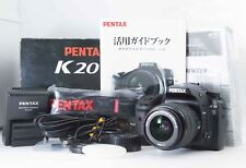 NEAR MINT in BOX Pentax K20D 14.6MP DSLR w/ Pentax 18-55mm f/3.5-5.6 From Japan