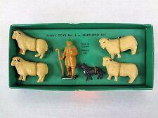 #6 SHEPHERD Set – Dinky Toys Vintage Model Train People – Layout Accessories