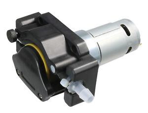 24V DC - 630 / 1250 oder 1900ml/min - Schlauchpumpe/Dosierpumpe/Peristaltikpumpe