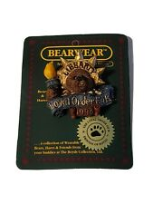 Boyds Bearwear Ms Libearty 1998 Fob Resin Pin Brand New on Original Card