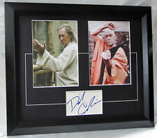 RETRO DAVID CARRADINE signed Matted authentic signed card with photos A1105DC