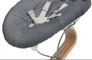 nomi chair newborn mattress, grey, new never used