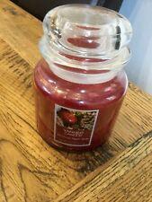 Yankee Candle Wax Tarro Mediano Navidad Apple Spice Usa Exclusivo retirado 411g