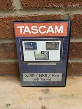 Tascam 2488 / Mkii / Neo Dvd Video Training Tutorial