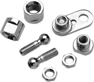Chris Products Rear Turn Signal Bracket w// Mounting Screws 8480 Chrome~
