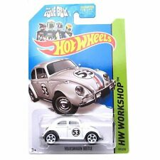 2013 Hot Wheels HW Workshop HERBIE -The Love Bug VW Beetle 191.250 BFD65 +3 1:64