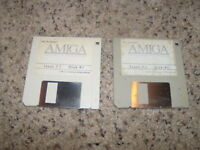 "Amiga Software & Information Issue 3.1 Commodore Amiga on 3.5"" floppy disk"