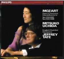 Mozart: Concerti Per Pianoforte No 22 & 23 / Mitsuko Uchida, Jeffey Tate - CD