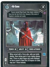 Star Wars CCG Reflections II Ex. Uni. Premium Kir Kanos