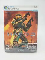 Halo 2 PC DVD-ROM Microsoft Game Studios Bungie 2007 Windows Vista W/ Code