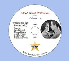 "DVD ""Waking Up the Town""(1925) Jack Pickford,Norma Shearer,Classic Silent Comedy"