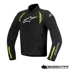 ALPINESTARS Motorradjacke AST AIR Textil Jacke schwarz gelb Protektoren Gr. M