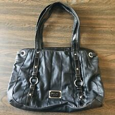Large Relic Brand Black Faux Leather Shoulder Bag Purse