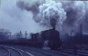 35mm Slide BR British Railways Steam Locos x3 original slides