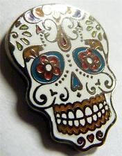 Day of the Dead Dia de los Muertos Mexico Skull Suit Tattoo Jacket Hat Lapel Pin